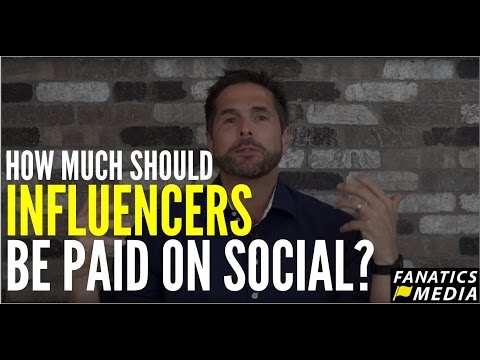 How Much Should You Pay Influencers on Social Media?