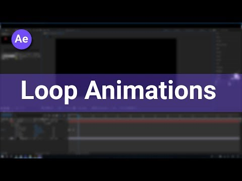 How to Loop Animations in After Effects Easily