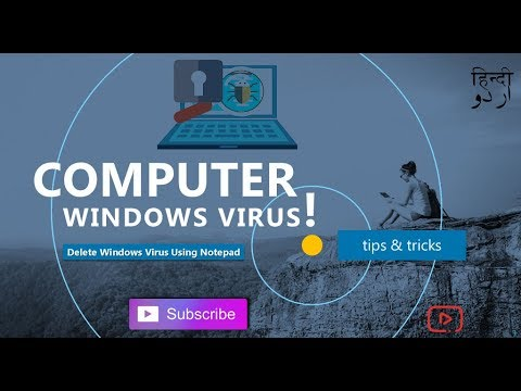 How To Make A Delete Windows VIRUS Using Notepad ll Kingstar2you  #10
