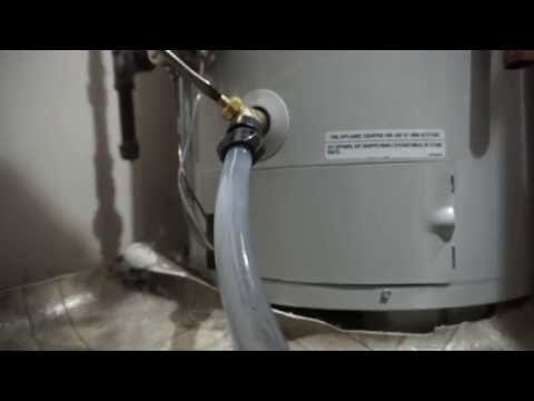How to Flush a Hot Water Tank DIY