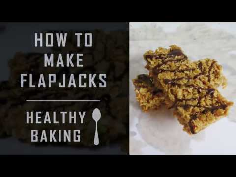 How To Make Bake Home made Golden Syrup Flapjacks - Tutorial / Guide