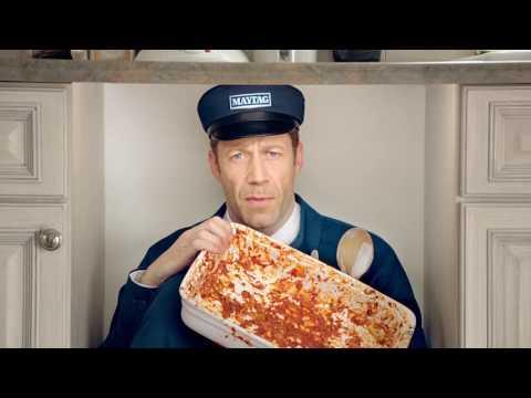 Maytag Man Dishwasher Commercial: Lasagna | Maytag Man