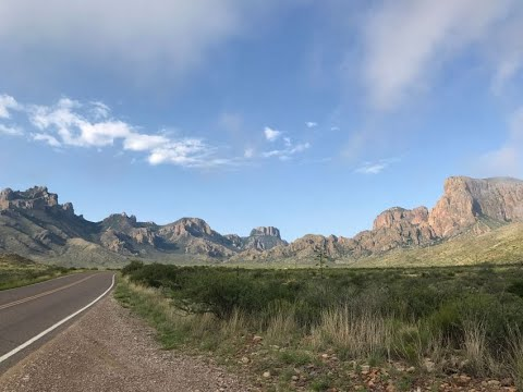 An Epic American Adventure - Day 3- Big Bend National Park