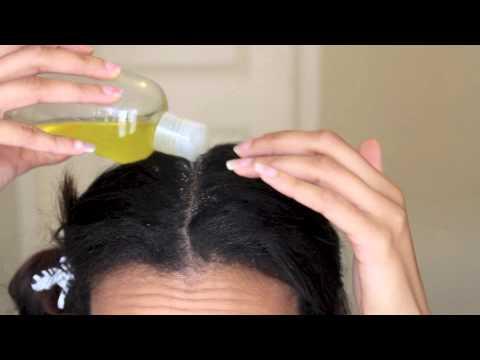DIY Hot Oil Treatment for Dry Hair