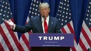 Donald Trump Announces Presidential Campaign