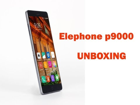 Elephone P9000 Unboxing video - Best Elephone Mobile