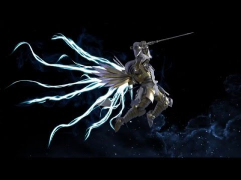 Diablo III - Tyrael Archangle of Justice model