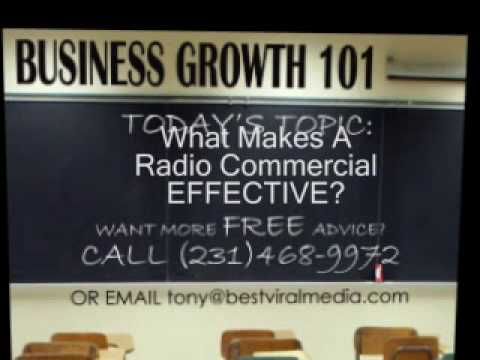 How to make an EFFECTIVE Radio Commercial