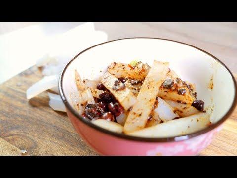 Chen Du cold mung bean noodle authentic Sichuan/Szechuan food recipe #44 成都洞子口凉粉