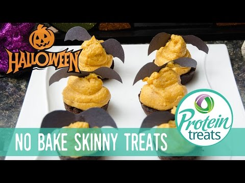 Bat Treats with Oreo Crust – Protein Treats by Nutracelle