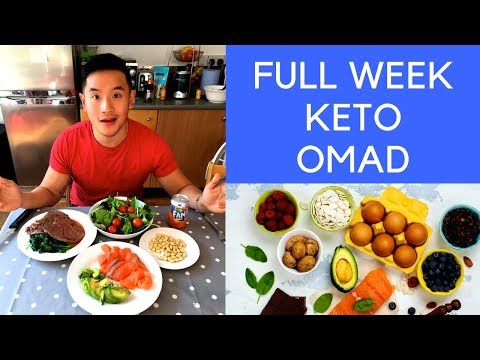 I Ate One Meal A Day (KETO) -2KG !