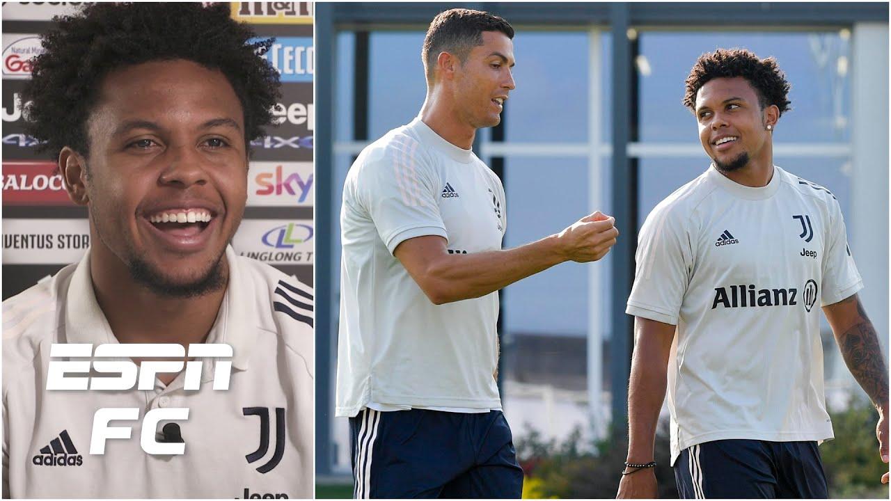 'Be cool…' Weston McKennie on meeting Cristiano Ronaldo & the USMNT's bright future   ESPN FC