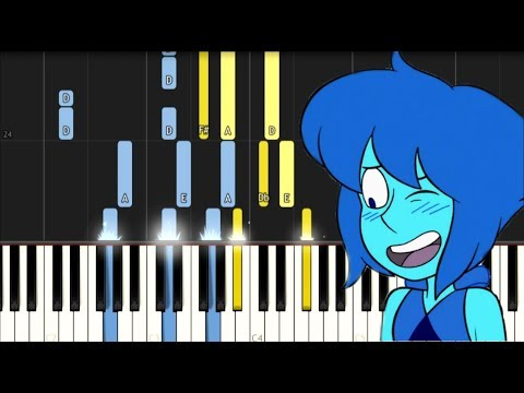 That Distant Shore (Lapis' Song) - Steven Universe - Synthesia Piano Tutorial
