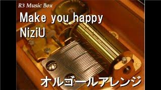 Make you happy/NiziU【オルゴール】