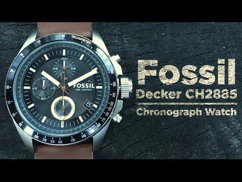 Fossil Decker CH2885 Unboxing and Full Walkthrough