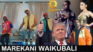 """Marekani waikubali ngoma ya """"QUARANTINE"""" kutoka WCB,imeingia trending Marekani,DIAMOND aandika haya."""