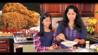 KFC Style Fried Chicken | How To Make Crispy Spicy Fried Chicken/ Kfc Chicken Homemade