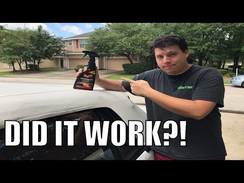 Meguiars Convertible Top Cleaner Review & How To | Yankee Dewey