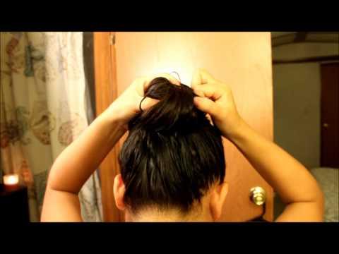 How To:Wet & messy bun