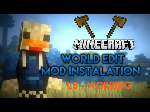 Minecraft - How to install the WORLD EDIT MOD 1.8.9 (2016) - Working [Tutorial]