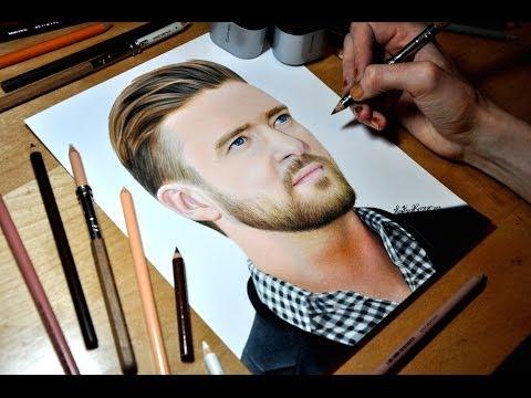 Drawing Justin Timberlake