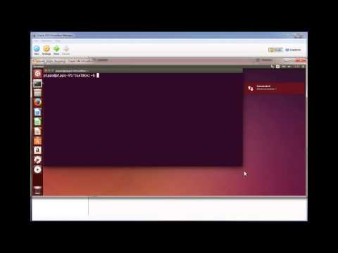 Remote connection: Ubuntu and openSuse