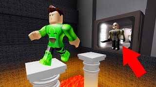 JUMP Over OBSTACLES To ESCAPE From The BEAST! (Roblox)