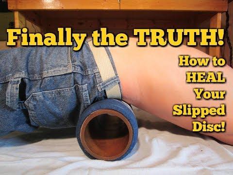 Herniated Disc Exercises!  Slipped Disc!  Bulging in LOWER BACK!