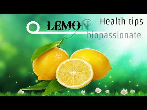 LEMON - Health tips.