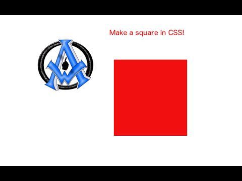 MAKE A SQUARE IN CSS