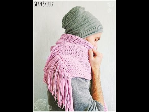 ♥ Let's Make: A Chunky Loom Knitted Scarf ♥