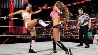 WWE RAW 10.13.14 Brie Bella, Natalya & Naomi vs. Cameron, Nikki Bella & Summer Rae (720p)