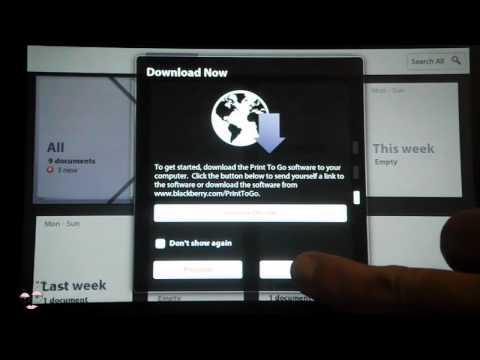 BlackBerry PlayBook OS 2.0 Walkthrough- BooredFemme