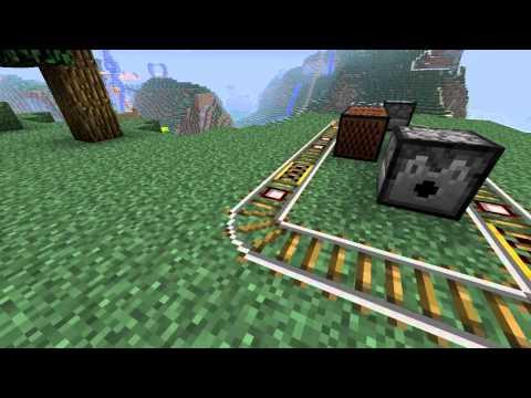 Minecraft Blocks & Items: Detector Rail