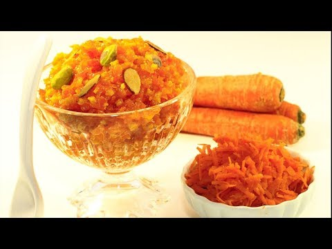 Carrot Halwa || Gajar Ka Halwa Recipe || Carrot Recipe || Live Food