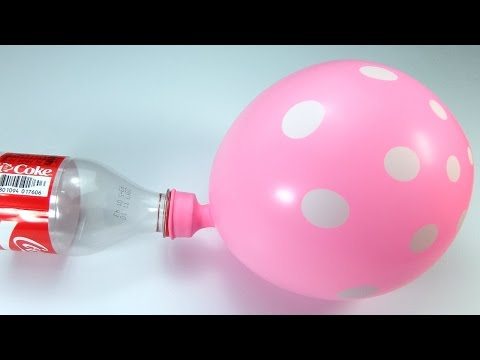 How to Make Air Pump using Coca Cola Bottle, balloon Life Hacks, 에어펌프, 페트병 재활용, 코카콜라, 생활해킹, 만들기, 꿀팁