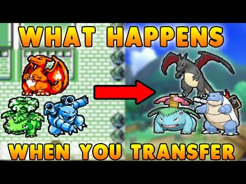 What Happens when you TRANSFER POKEMON from 1ST GEN to 7TH GEN? (Shiny, EVs, IVs, Natures, Genders)