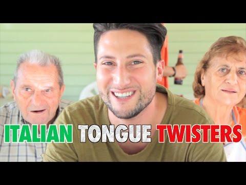My Family Tries Italian Tongue Twisters
