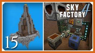 Sky Factory 4 | Auto Amber Crafting Smelting! | E14 (Sky