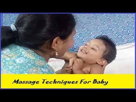 How to do Infant Massage ll Massage techniques