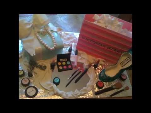 MAC make-up Tiffany's Box and Victoria's Secret Cake