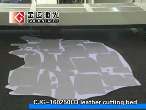 Genuine Leather Laser Cutting Machine CJG-160250LD