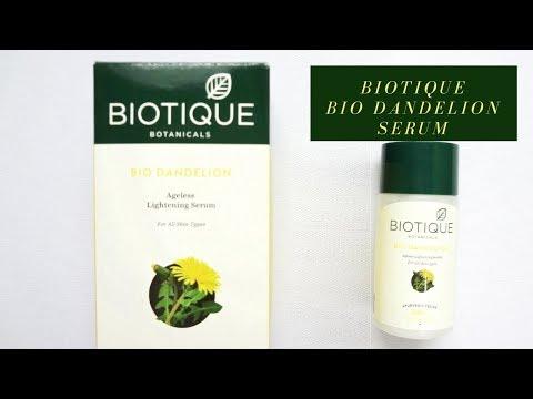 Biotique Bio Dandelion Ageless Lightening Serum Review