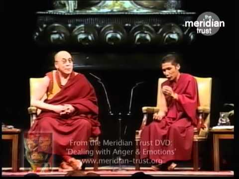 HIS HOLINESS THE DALAI LAMA gives advice on HOW TO MANAGE ANGER & HATRED