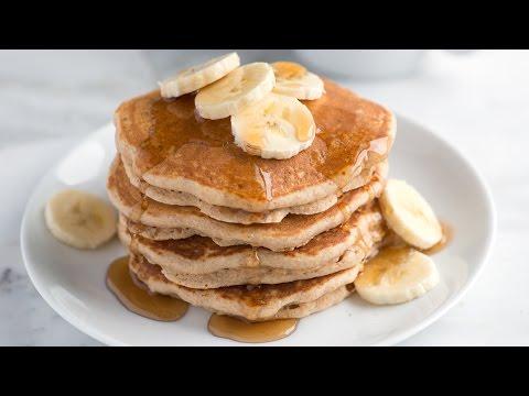 Easy Whole Wheat Pancakes Recipe - How to Make Homemade Whole Wheat Pancakes