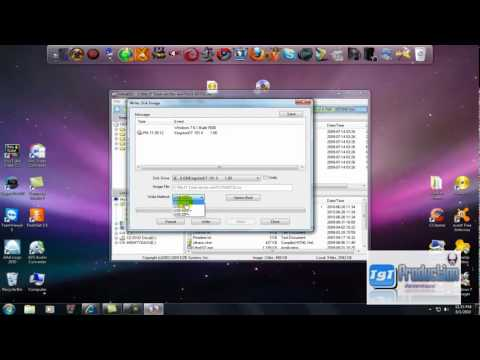 HoW To MoUnT WinDowS 7 iSo And MakE a BoOTablE USB usiNg UltraISO - YouTube.FLV