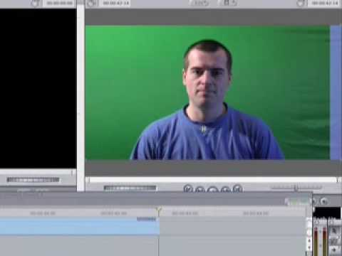 Final Cut 'How to key out green screen