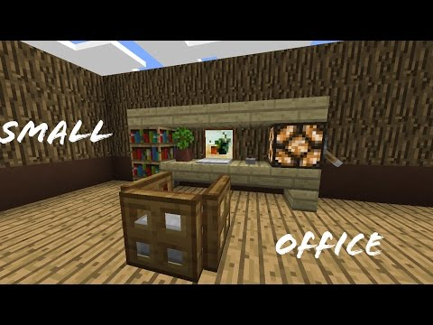 Minecraft Pocket Edition | How to Build a Small Office