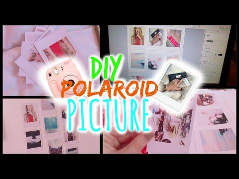 DIY Polaroid Pictures // TUMBLR ROOM DECOR