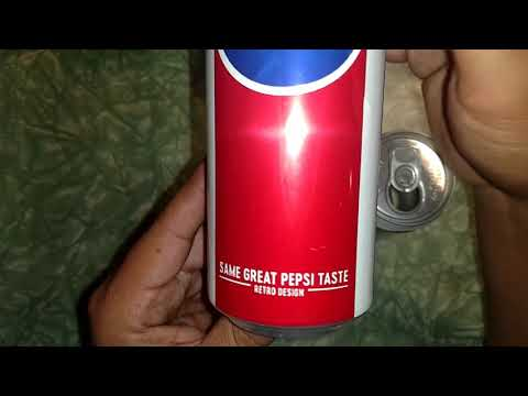 Pepsi cans.